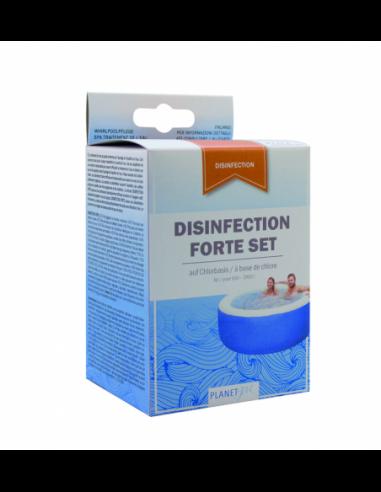Spa désinfection chlore oxygène 8 x 25g
