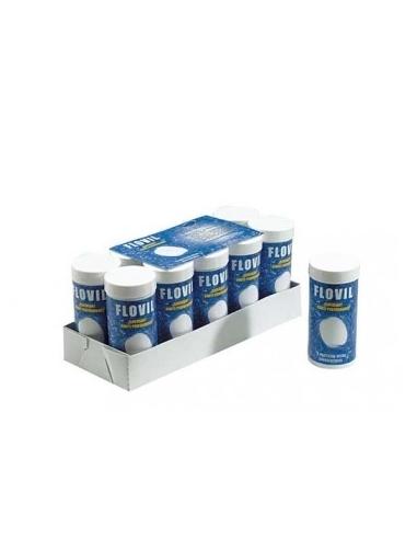 Clarifiant et floculant tubes de 6 pastilles pack 10 tubes