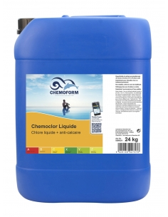 Chlore liquide avec...